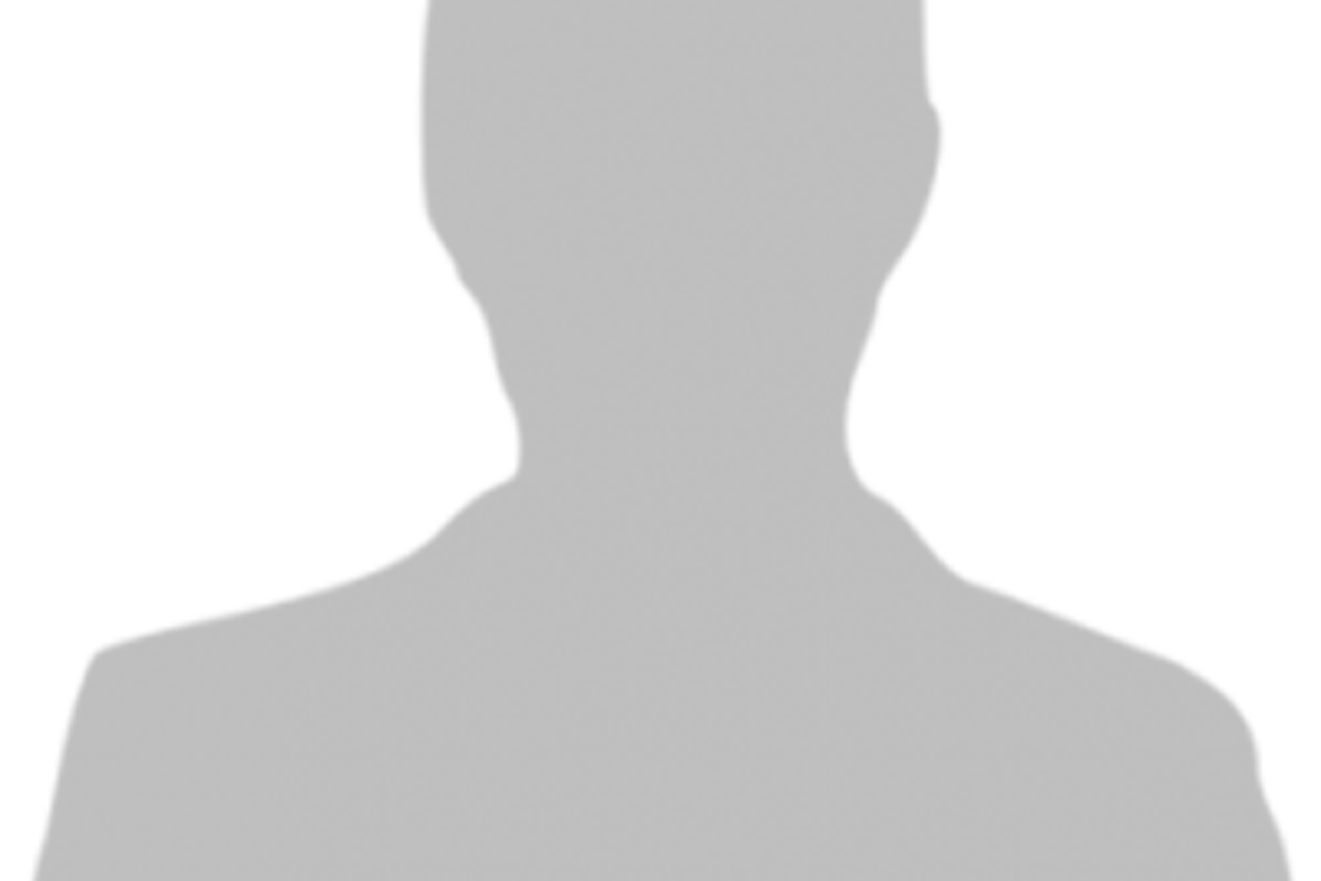 silhouette of a male